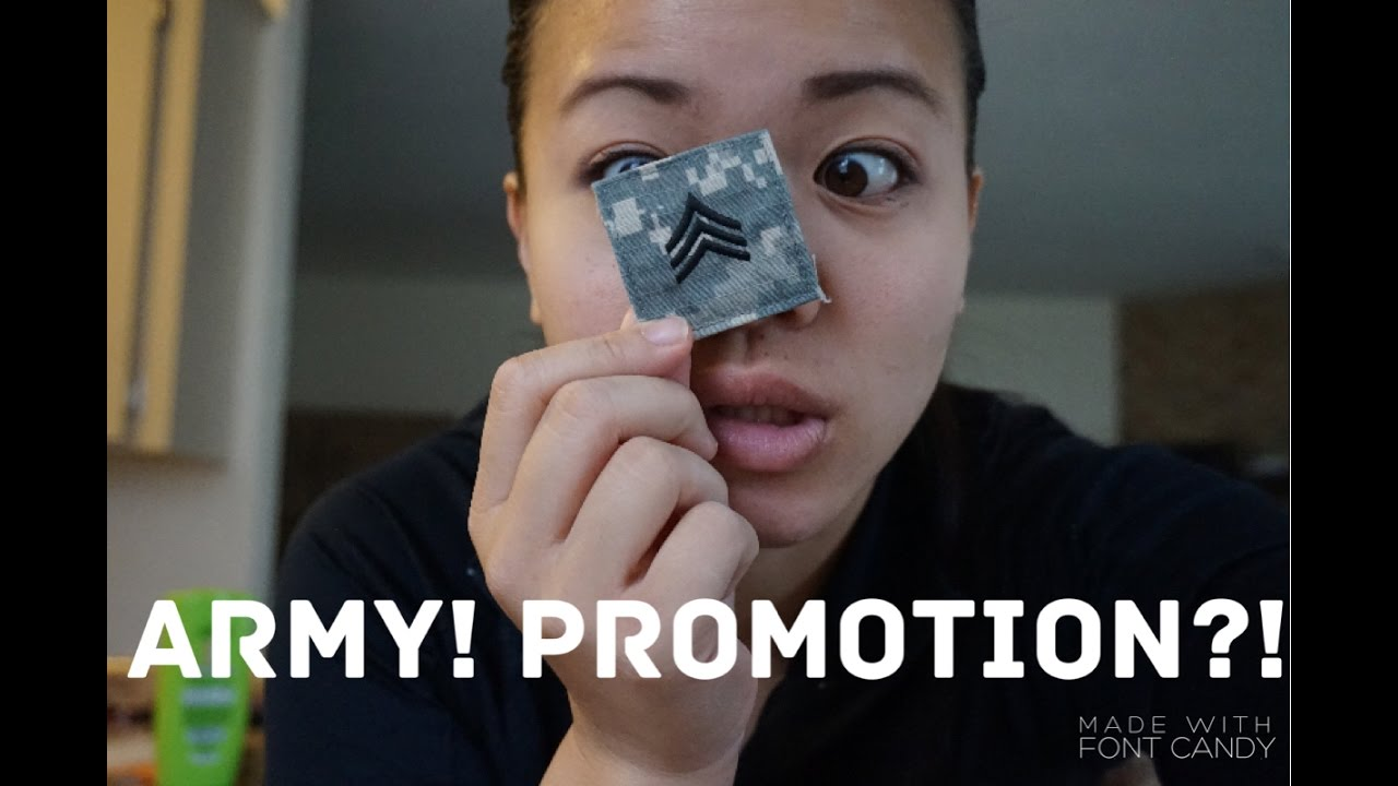 Army Life! PROMOTION?!