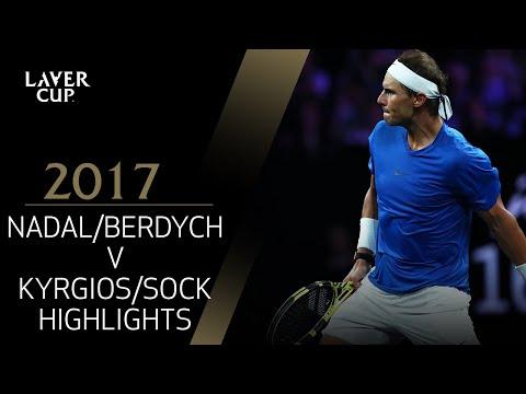 Nadal/Berdych v Kyrgios/Sock (Match 4) | Laver Cup 2017
