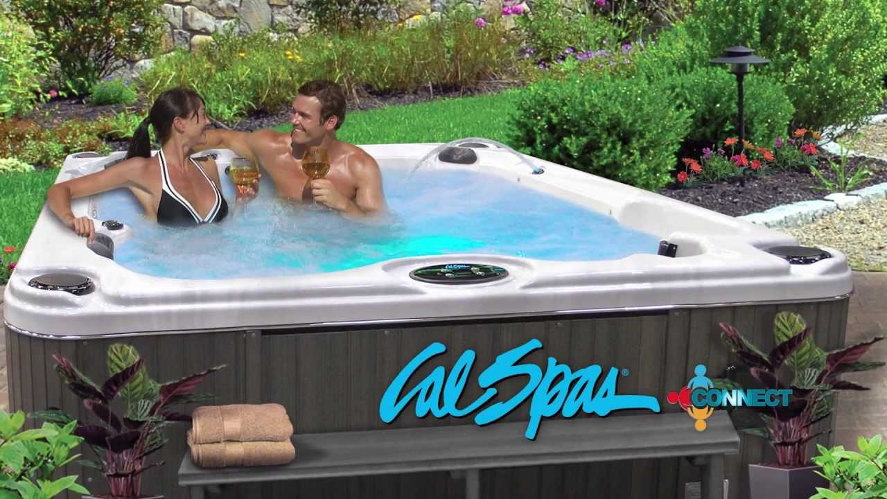 Cal Spas Hot Tubs, Spas and Swim Spas for Sale. Cal Spas Connect Spa ...