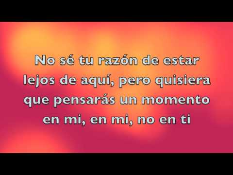 Vázquez Sounds- En Mi, No En Ti Letra