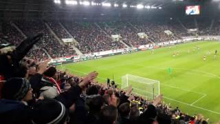 "Hungarian fans singing ""Polska"" during Hungary - Andorra | Magyarország - Andorra 4-0"