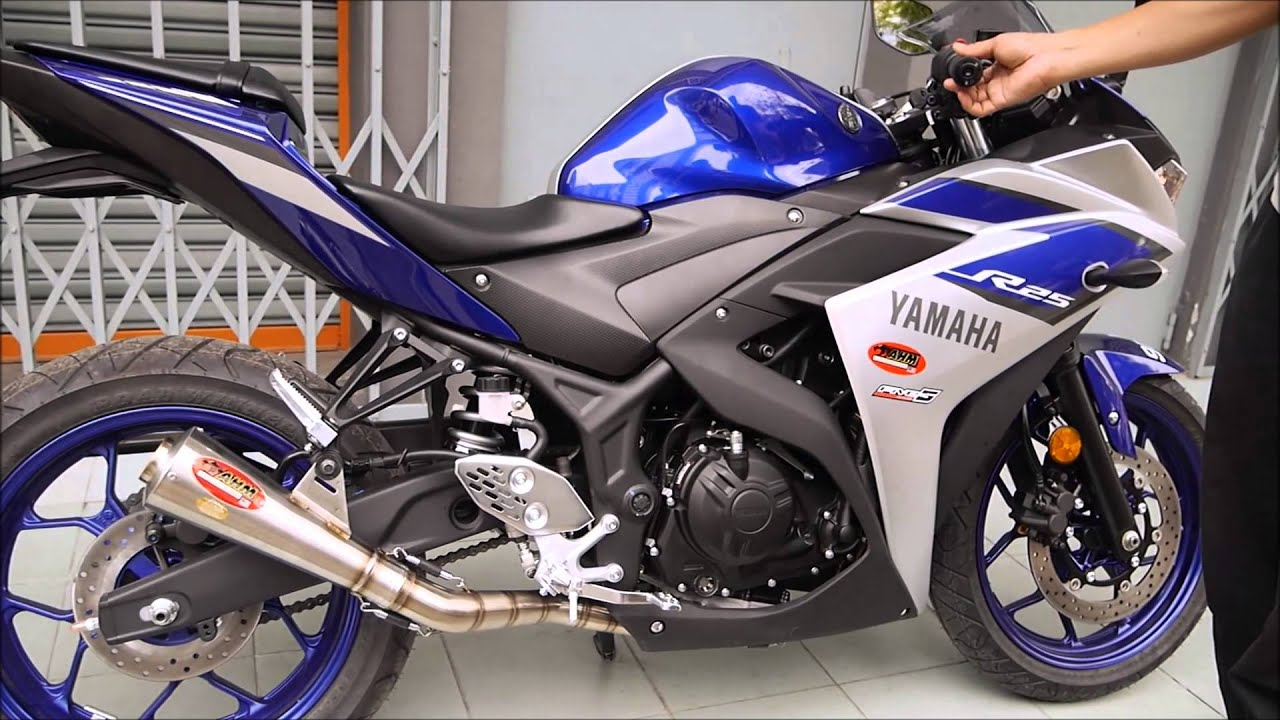 Ahm Pro Racing Exhaust Model Gp3 Yamaha R25 Knalpot Fu Prospeed Black Series Satria Fullsystem Speed