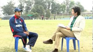 Paras Khadka, Captain, Nepali National Cricket Team in TOUGH talk with Dil Bhusan Pathak- Promo