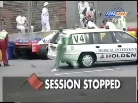 F1 Adelaide 1995 - Mika Häkkinen's horiffic crash
