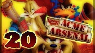 Looney Tunes: Acme Arsenal Walkthrough Part 20 (X360, Wii, PS2) World 10 : Level 2 (Final Boss)