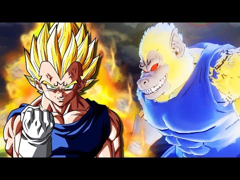 GREAT APE MAJIN VEGETA! Limit Breaker Majin Oozaru Vegeta Is Born | Dragon Ball Xenoverse 2 Mods