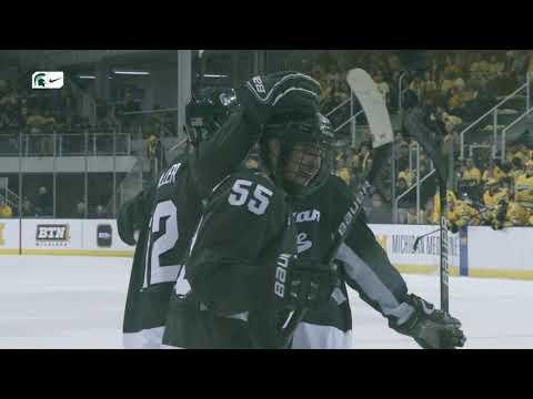 Michigan State Vs Michigan | Cinematic Highlight | Ice Hockey