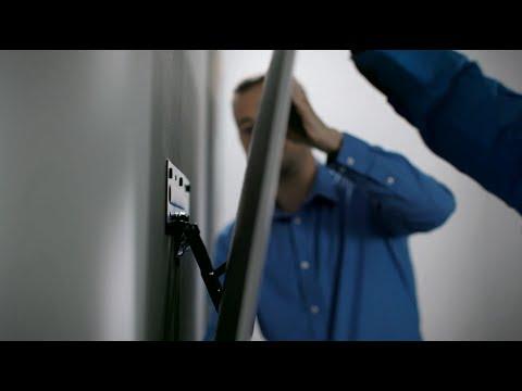 Jak pověsit Samsung TV na zeď