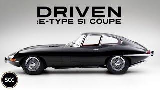 JAGUAR E-TYPE S1 Coupé 4.2 1965 - Full test drive in top gear - Engine sound | SCC TV