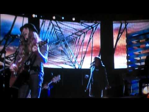 Sawyer Fredericks on NBC The Voice singing his original song,