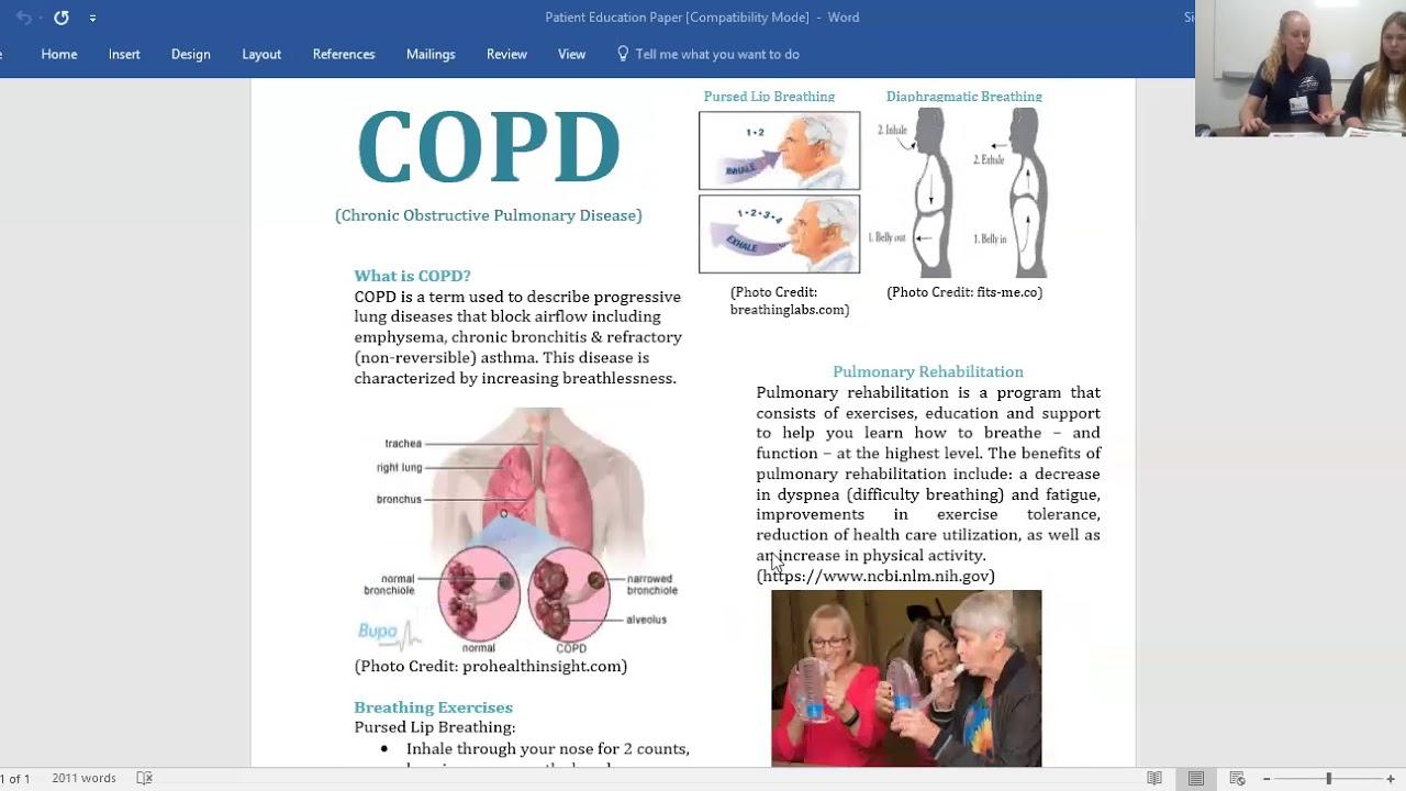 Patient Education: COPD - YouTube