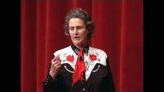 My Experience with Autism(Tune in for this unusual presentation on autism by someone with autism. Animal Science professor Temple Grandin, who designs livestock handling facilities, ..., 2008-02-08T10:01:32.000Z)