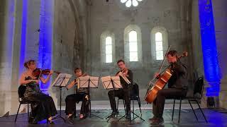 Quatuor con Fuoco - Mozart Divertimento en Ré majeur K 136 1er mouvement