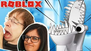 Escape the Toilet - Dansk Roblox Obby med RobinSamse