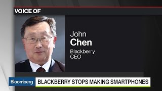 BlackBerry's CEO Tells Us Why the Company Decided to Stop Making Phones