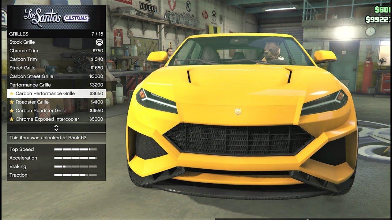 NEW CAR IN GTA 5 ONLINE , TOROS , Lamborghini Urus
