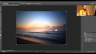 Нестандартный и эффективный способ избавиться от резкого виньетирования на фото в фотошопе. Урок