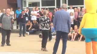 Opening Spray Park zwembad Batenstein in Woerden 6 juli 2016