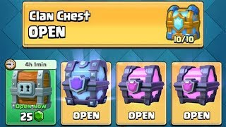 OPENING ALL OF MY AWESOME CHESTS :: Clash Royale :: SUPER MAGICAL CHEST/TIER 10 CLAN CHEST AND MORE!