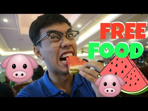 FREE FOOD!! (VLOG 11) | Marvin Lance