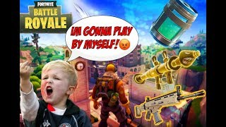 Trolling On Fortnite! Halarious Reaction!