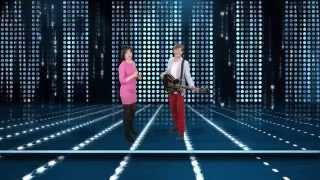 SHAZZA i MICHAŁ GIELNIAK -  Powiedz , że mnie kochasz ( studio Tv wideo)