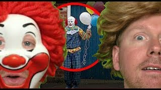 Real Clowns Creepier than Pennywise from IT (Warning: Scary to Some Viewers)