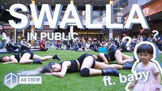 Gambar cover KPOP IN PUBLIC BLACKPINK LISA 'SWALLA' Dance Cover [AO CREW - Australia]
