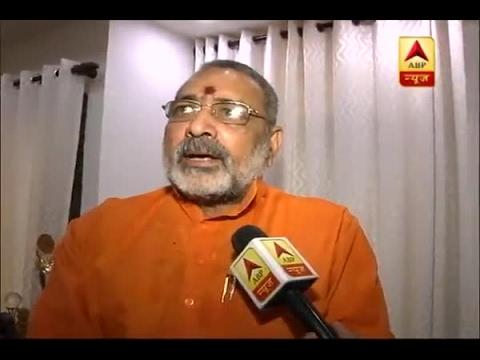 Nitish Kumar is responsible for violence by RJD workers, says Giriraj Singh