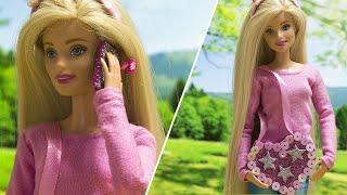 Лайфхаки для Бабри / 5 простых лайфхаков для куклы Барби своими руками / Видео