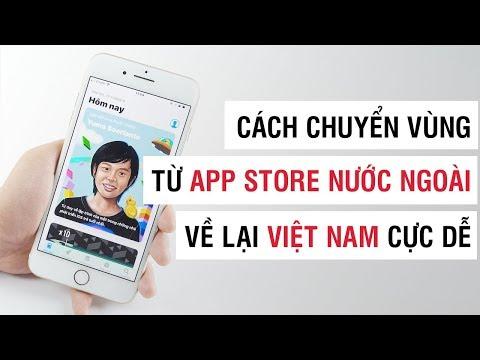 Cách chuyển vùng App Store từ nước ngoài về Việt Nam | Điện Thoại Vui