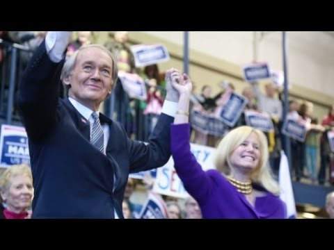 Ed Markey kicks off his campaign for U.S. Senate
