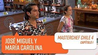 El grupo de José Miguel y María Carolina   MasterChef Chile 4   Capítulo 1