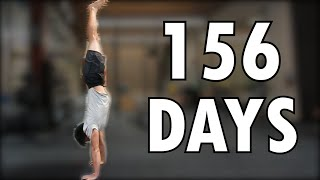 This Average Guy Learns the Handstand in 156 days