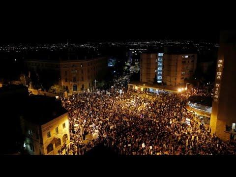 إسرائيل: آلاف المتظاهرين ضد بنيامين نتانياهو في ظل اتهامات فساد وفشله في مكافحة فيروس كورونا  - 07:58-2020 / 8 / 2