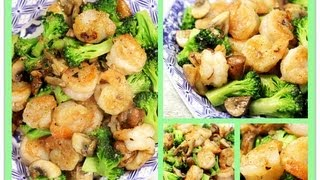 Chinese Shrimp and Broccoli Stir Fry 清炒虾仁