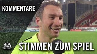 Die Stimmen zum Spiel (Kickers Offenbach - KSV Hessen Kassel, Halbfinale, Hessenpokal 2016)
