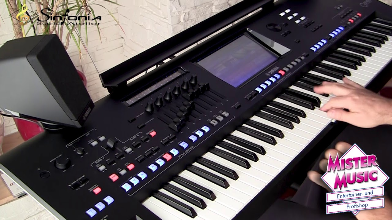 yamaha genos demo organ groove new alto sax youtube. Black Bedroom Furniture Sets. Home Design Ideas