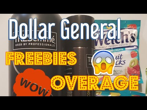 Dollar General 💥new Overage💥 Coupons And Free Tresemme Cheap Suave