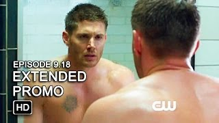 Supernatural 9x18 Extended Promo - Meta Fiction [HD]
