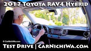 2017 Toyota RAV4 Hybrid XLE AWD   Test Drive   CarNichiWa.com