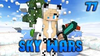 Minecraft Sky Wars #77|ЧУДОМ ВЫЖИЛА!(Cristalix)