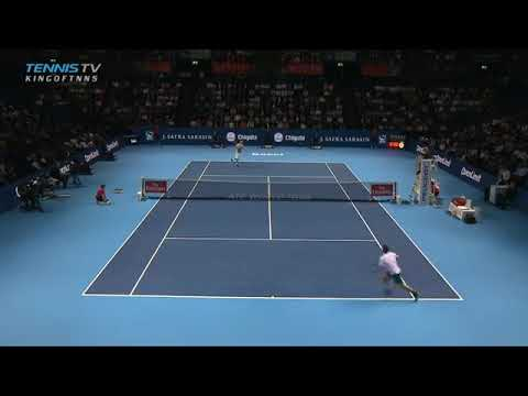 Federer vs Mannarino Basel Indoors Quarter Final Highligts 2017