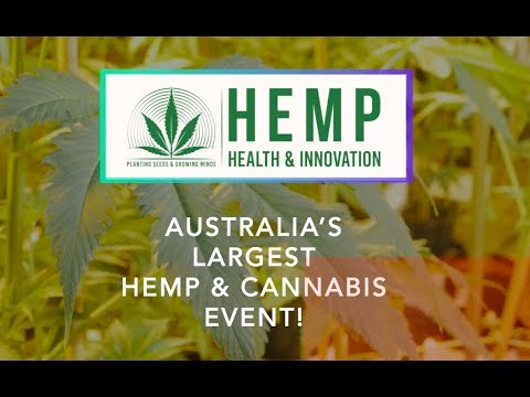 Hemp Health & Innovation Expo Syd 2018, May 12 & 13 @ Rosehill Gardens
