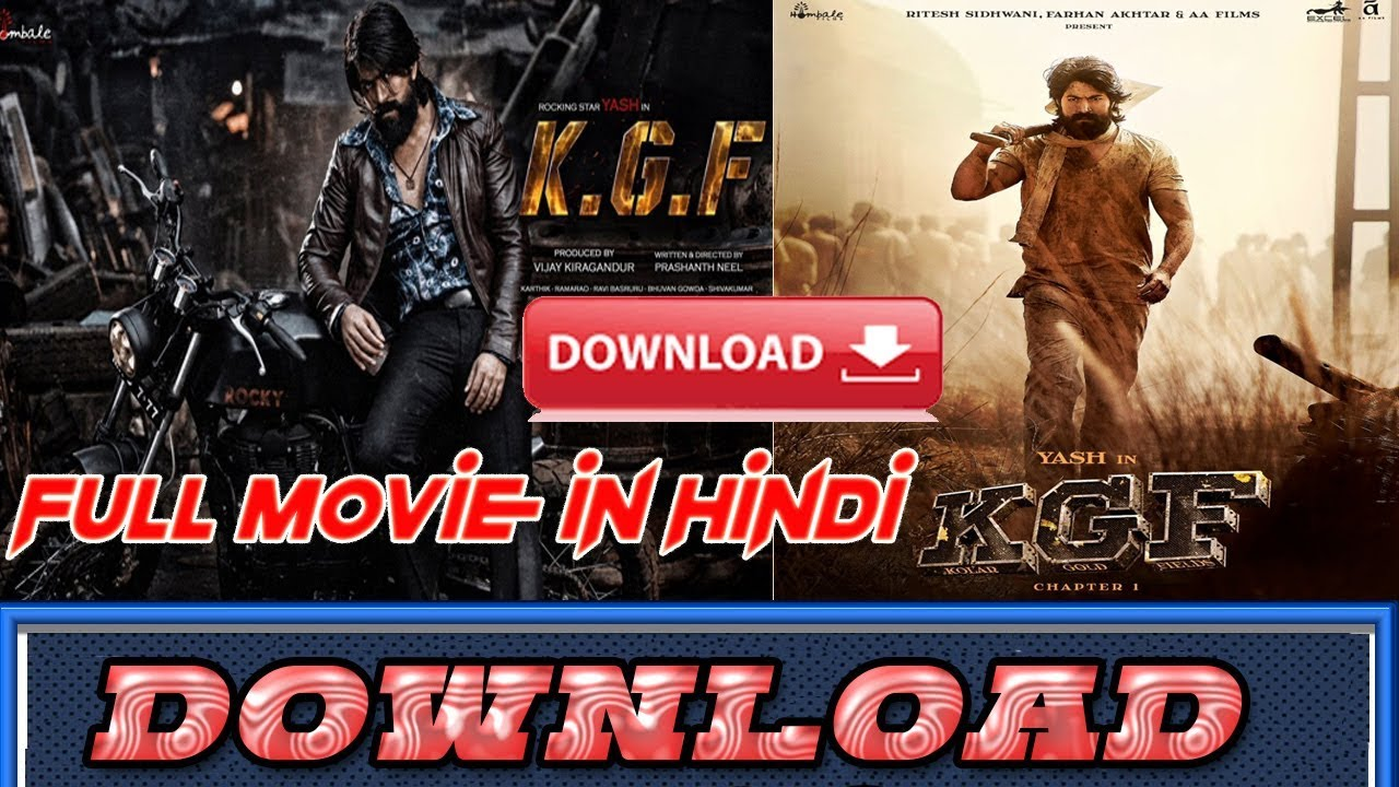 How To Download Kgf Hindi Dubbed Full Movie 2018 Youtube