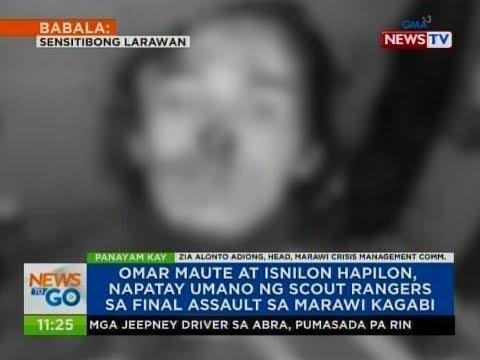 NTG: Panayam kay Zia Alonto Adiong, Head, Marawi Crisis Management Comm.