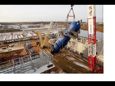 Экскурсия по нефтеперерабатывающему заводу Танеко. Excursion On Oil Refinery Taneko (Tatarstan)