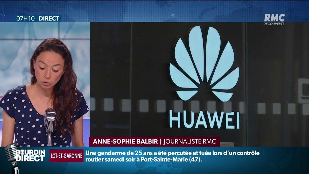 L'avenir du géant chinois Huawei sur le marché de la 5G en France s'est sérieusement assom