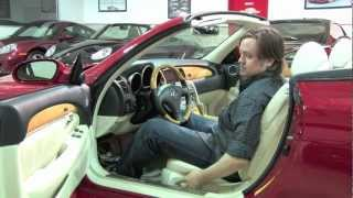 Lexus SC430 Convertible--D&M Motorsports Video Review with Chris Moran 2012