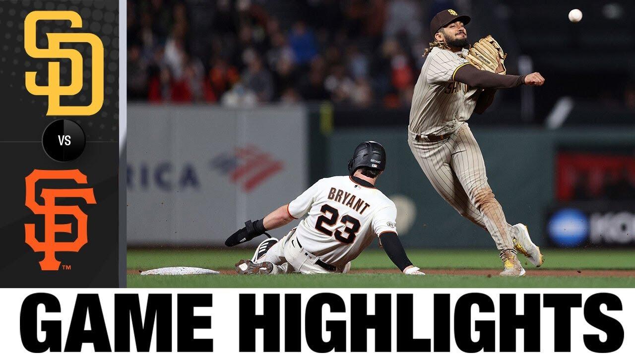 Download Padres vs. Giants Game Highlights (9/15/21) | MLB  Highlights